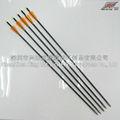 las flechas de fibra de vidrio