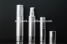 50ml elegante de alta calidad de plata de aluminio de la bomba de plástico botella de spray