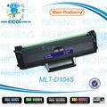 Cartucho de toner compatible para samsung MLT-D104S