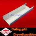 u Canal / canal de c para la partición drywall