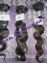 100% cabello humano y material de la extensión el tejer del pelo remyindio virgen cabello exportador y proveedor en chennai