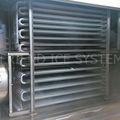 industrial aire explosión congelador de placas para los peces y camarones