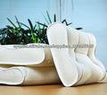2013 3D nueva antimite transpirable lavable S almohada forma de onda
