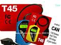 Especial para carros vag portátil aparelho de diagnóstico trouble código reader t45, novos vag leitor de código