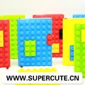 silicio bloque nuevo diseño colorido cuaderno promoción
