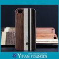 china fabricantes de madera cubierta de la caja para apple iphone5 caso de madera al por mayor