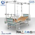 Lit d'hôpital orthopédique de traction, le système de commande de traction, des accessoires orthopédiques, lits de colonne