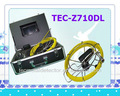 vidange tuyau d'égout caméra d'inspection, caméra de surveillance avec carte mémoire, soudage sous l'eau tec-z710dl