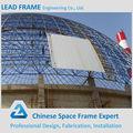 atractivo y duradero de acero inoxidable de cúpula de la estructura del marco del espacio