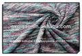 Suéter tejido de punto/hilado teñido de tela/100 tela de poliéster