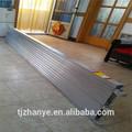 De alta calidad 10' x19'' andamio de aluminio de pie bordo