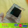 Nueva transparente de acrílico del diamante anillo de soporte de exhibición/de acrílico del diamante en forma de caja de