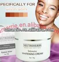 extracto de gayuba cuidado de la piel para blanquear la cara crema para blanquear los productos