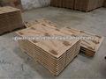 madera de compresión paleta