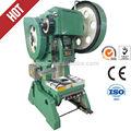 Prensa de energía, j23-63tons mecánica de la hoja de metal agujero punch prensa harsle desde,