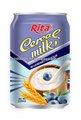 el sabor de la leche de cereales