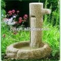 soild jardim parede de granito bacia da fonte