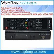 libre receptor de Internet por satélite con conexión a Internet vivobox S926 plus para Suramérica