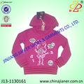 100% algodão menina moda jaqueta crianças atacado de vestuário infantil china fornecedor