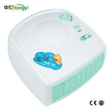 Los hogares zy-h105 portátil ionizador ozono purificador de aire