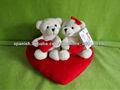Día de San Valentín regalo del corazón abrazo del oso