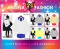 Blouse-0002 Angela blusa de las señoras T-shirt Wholesale listo para enviar Además Tamaño de la ropa >>