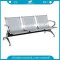 AG-TWC001 Venta caliente de acero de alta calidad de 3 plazas sillas de sala de espera