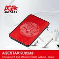 """Agestar 2.5"""" usb2.0 recinto disco duro externo: sub2a8 caja del disco duro 2.5 pulgadas caja de disco duro"""