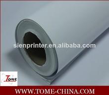 Papier autocollant de vinyle rouleaux/vinyle adhésif rouleau de papier décoratif