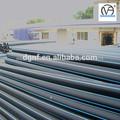 Polietileno de alta densidad pe 80 100 tubería/agua tubo de polietileno negro