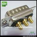 Eléctrico pin conector macho 5 pines d-sub 5w5 tipos de energía