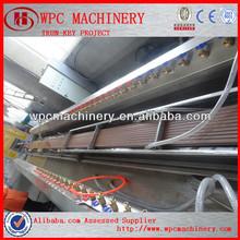 Madera- compuesto de polímero( wpc) máquina wpc producto de la máquina de material reciclado