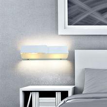 Iluminación de la pared de cristal moderno para salón E14