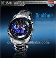 D-82 inoxidable de calidad de cuarzo reloj, reloj para los hombres, promocional regalo de marca relojes de los hombres