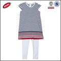 baratos para niños con estilo raya ropa casual chicas conjunto