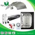 crecer tienda kit con reflectores, balasto electrónico, contador de tiempo, cuerda del trinquete/kit de iluminación solar