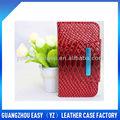 caliente venta de guangzhou 2013 soporte de teléfono móvil bling caso de cartera para soni ericsson wt19i caso