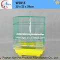 la importación de aves jaulas jaulas de aves de la casa cubículo