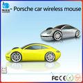 a partir de iso9001 aprobados fábrica de forma del coche usb de la computadora del ratón inalámbrico