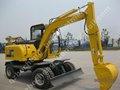 Hydraulique 6.2 ton 0.18m3 d'excavatrices avec xinchai moteur de roue