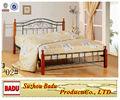 cama de metal simple moderno durable B-02