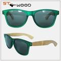 Novo design de moda óculos de sol, imitação de madeira óculos de sol