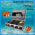 la buena voluntad de grabación de vídeo cámara de vídeo de pesca de la cámara bajo el agua