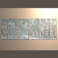 Vente chaude récent peinture d'art faits à la main volantes. peinture aluminium