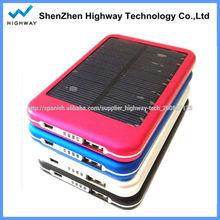 portátil 5000 mah cargador solar