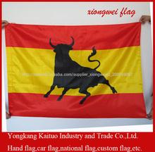 venta fábrica profesional Bandera toro español