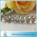 tira de diamantes de imitación para el vestido de boda
