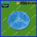 3d de silicona torta moldes de decoración, tapete de silicona para la decoración de la torta