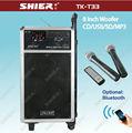 SHIER TK-T33 Amplificador portatil CD/MP3/USB/SD