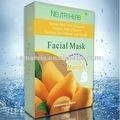 Soins de la peau& mangues. masque facial de blanchiment